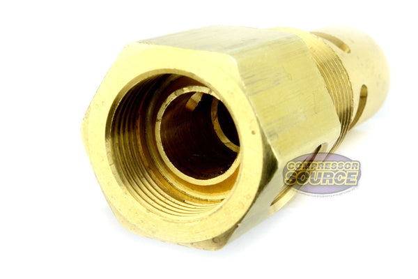 "In Tank Brass Ingersoll Rand Replacement Check Valve 3/4"" Male NPT x 5/8"" Female Inverted Flare"