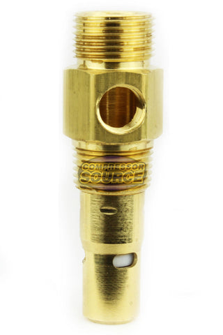 "In Tank Brass Check Valve 3/8"" Male NPT x 1/2"" Compression"