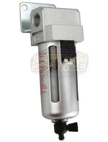 "3/8"" Compressed Air In Line Moisture / Water Filter Trap"