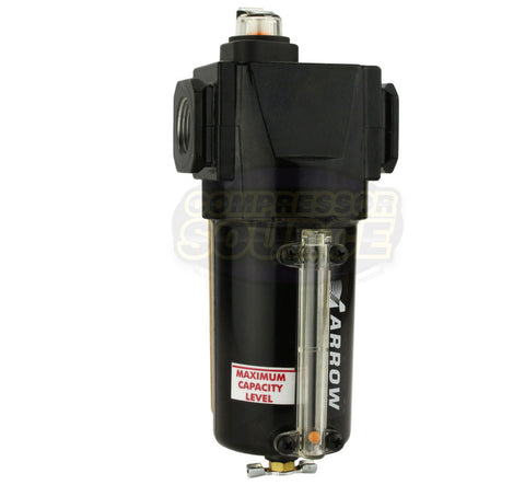 "Arrow Pneumatic 3/4"" Compressed Air Inline Coalescing Oil Removing Filter MADE IN USA"
