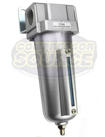 "1/2"" Compressed Air In Line Moisture / Water Filter Trap"