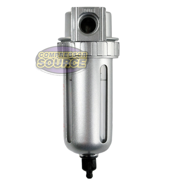 "1/2"" Compressed Air In Line Moisture & Water Filter Trap F804 Compressor New"