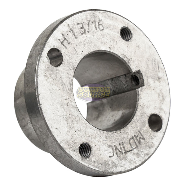 "Cast Iron 5.75"" Single 1 Groove Belt A Section 4L Pulley with 1-3/16"" Sheave Bushing"