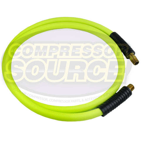 "New Flexzilla 1/2"" x 6' FT Air Hose Whip With 1/2' MNPT Swivel HFZ1206YW4S"