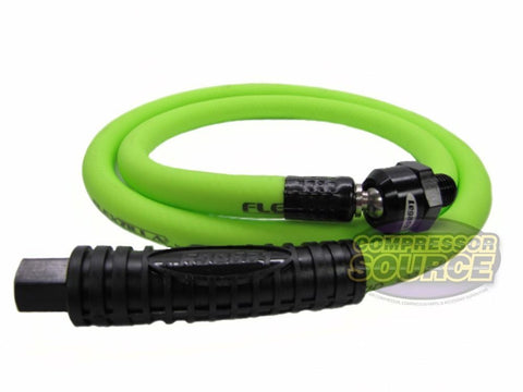 "Flexzilla 3/8"" x 4' FT Air Hose Whip With Ball Swivel"