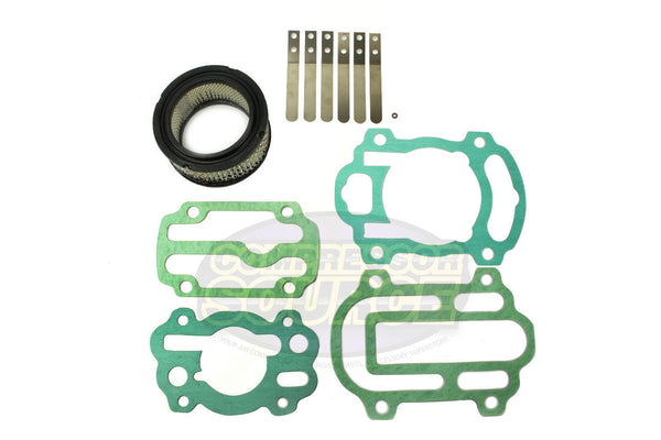 Aftermarket Replacement For Ingersoll Rand IR 242 Air Compressor Gasket & Valve Rebuild Kit