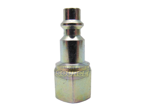 "Prevost 1/4"" Female NPT Industrial Style Steel Coupler Plug"
