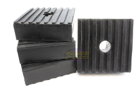 "Set of 4 New Industrial Anti Vibration Pads 3"" x 3"" x 1"" Thick"