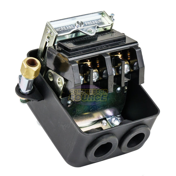 Single Port 95-125 PSI Metal Housing Pressure Switch