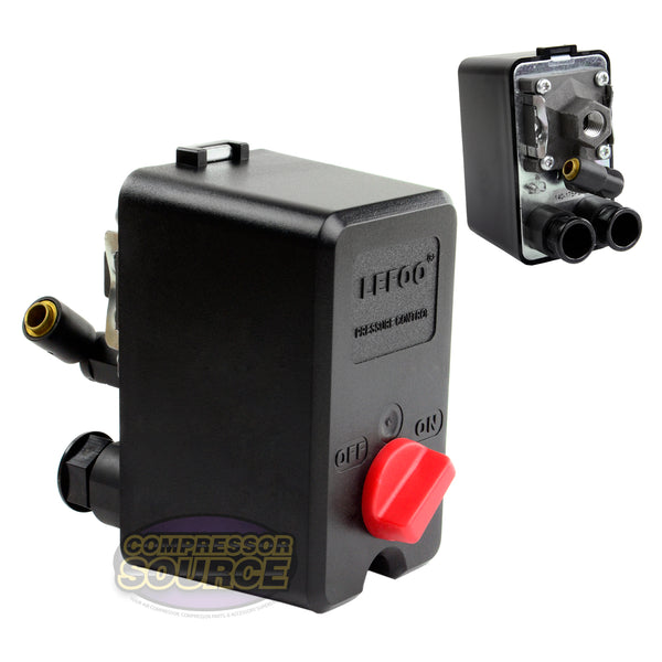 Single Port Import Style 140-175 PSI Air Compressor Pressure Switch