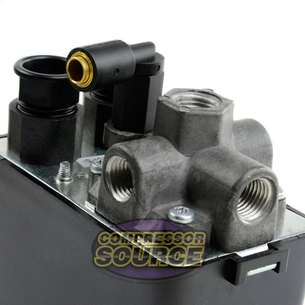 Import Style 4 Port Air Compressor Pressure Switch 95-125 PSI
