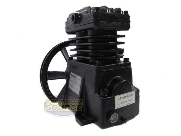 2 / 3 HP Schulz Industrial Grade Single Stage Cast Iron Air Compressor Pump MLS-10MAX