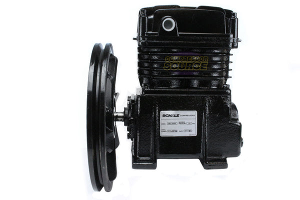 2 / 3 / 5 HP Schulz Industrial Grade Single Stage Cast Iron Air Compressor Pump MAX-18