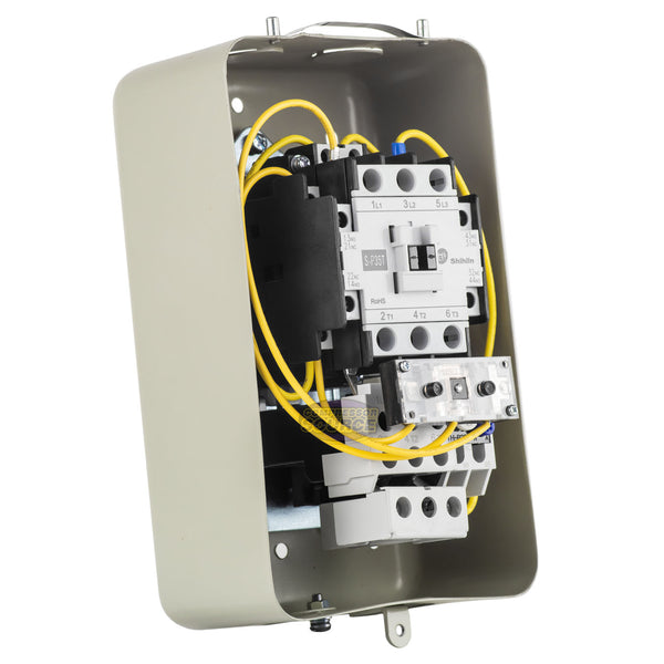 5 Horsepower Single Phase Electric Magnetic Motor Starter Switch w/ On / Off Control MSP30TPB