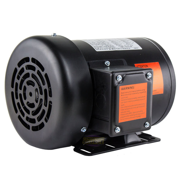 1 HP Electric Motor 3 Phase Premium Efficiency 56H Frame 1800 RPM TEFC 230/460 V