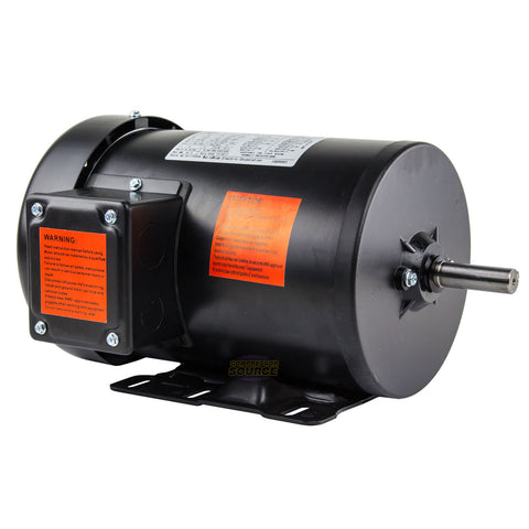 1.5 HP Electric Motor 3 Phase Premium Efficiency 56H Frame 1800 RPM TEFC