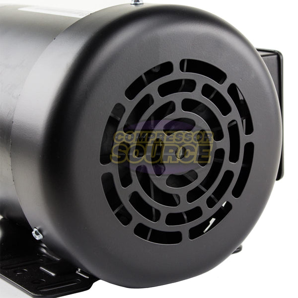 1/2 HP Electric Motor 3 Phase 56C Frame 1800 RPM TEFC  208 230 / 460 Volt New