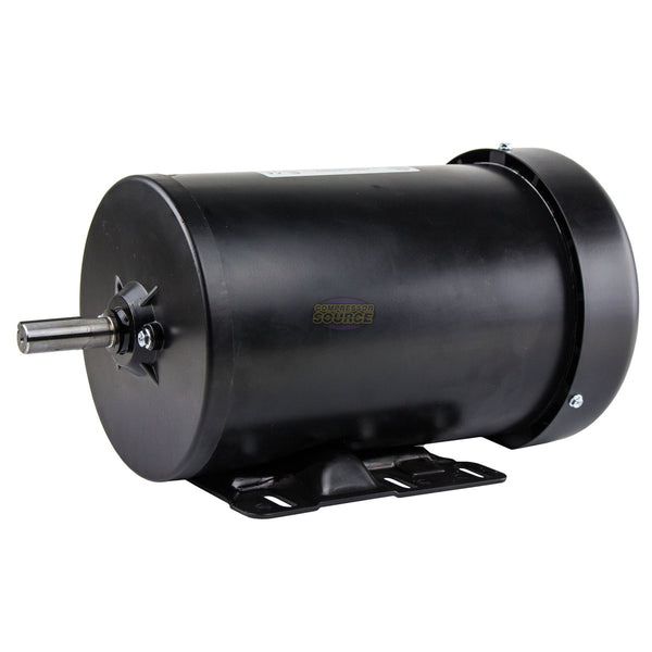 2 HP Electric Motor 3 Phase Premium Efficiency 56H Frame 1800 RPM TEFC 230/460 V