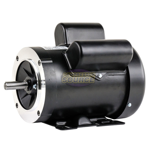 1.5 HP Electric Motor Single Phase 56C Frame 3450 RPM TEFC 115 / 230V C Face