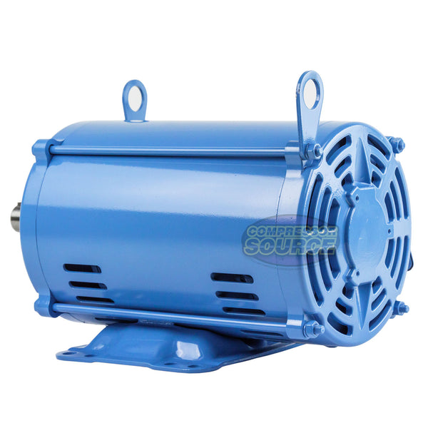 7.5 HP 3 Phase Electric Motor 3500 RPM 184T Frame ODP Open Drip Proof  230/460V