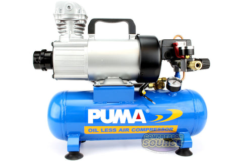 Puma PD1006F 12 Volt 1.5 Gallon Oil-Less Air Compressor with Advanced Filter