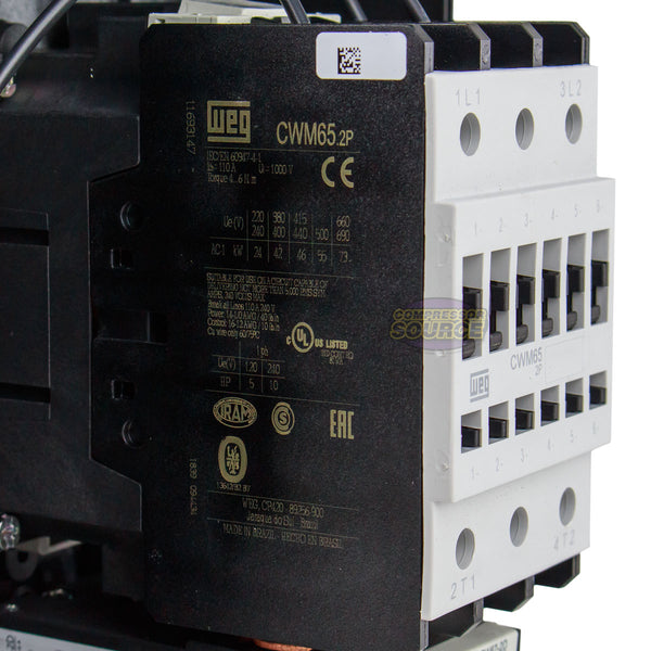 10 Hp Single Phase Magnetic Starter Motor Control 208
