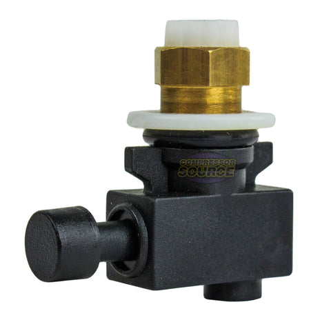 Replacement Prevost Manual Drain for TF Series Compressed Air Moisture Filters