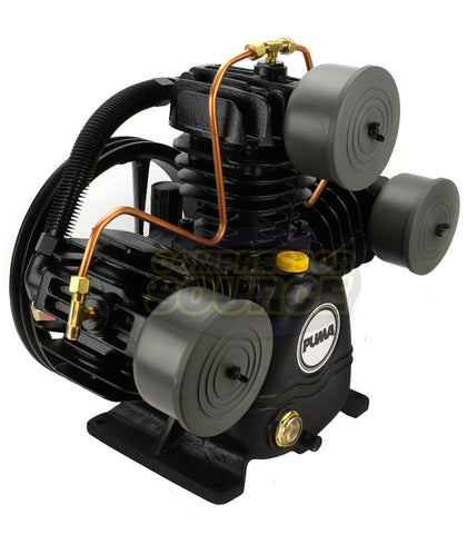 Puma 3 Cylinder Single Stage Cast Iron 22SCFM Air Compressor Pump