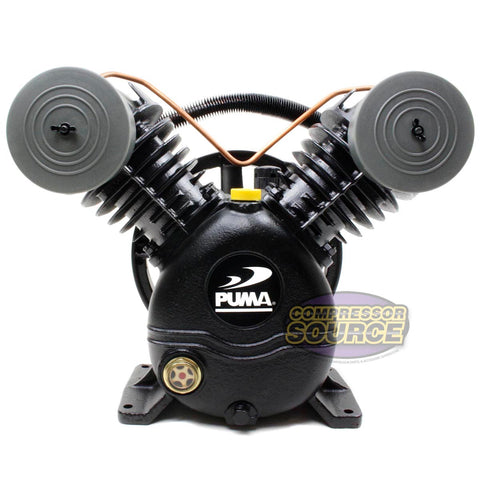 Puma 2 Cylinder 1 Single Stage Cast Iron Air Compressor Pump 15 SCFM