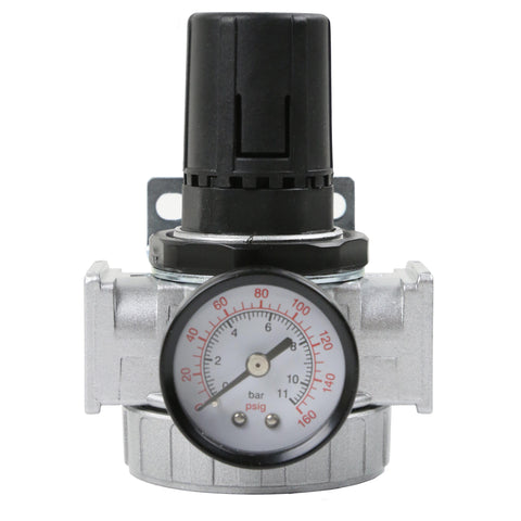 "1/2"" Compressor In Line Compressed Air Industrial Regulator Heavy Duty with Gauge"