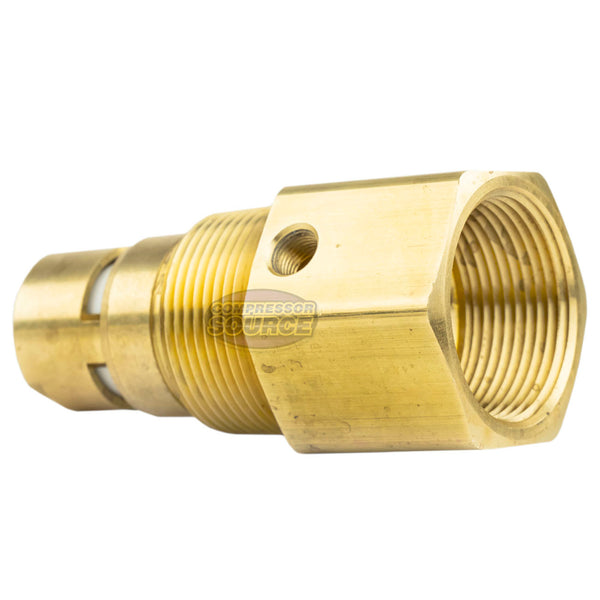 "In Tank Brass Check Valve 1-1/4"" Female NPT x 1-1/4"" Male NPT"
