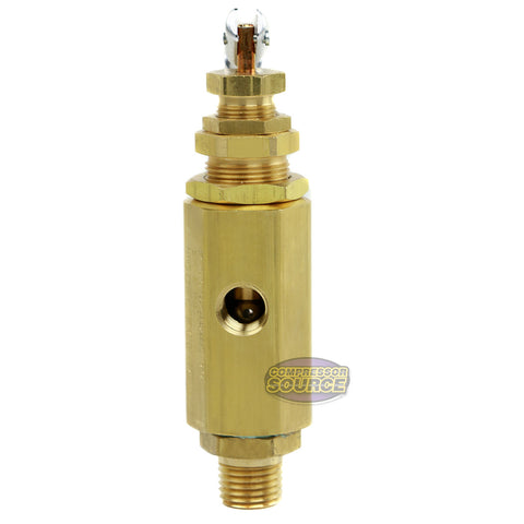 Air Compressor Unloader Control Pilot Valve 145-175 PSI Brass New