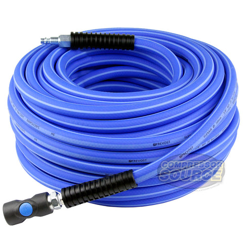 "3/8"" Flexair 100ft High Flexibility Air Hose Extension with Couplings Prevost"