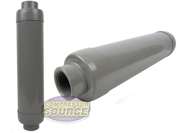 "1"" Female NPT Air Compressor Silencer / Muffler Solberg SLCR-100"