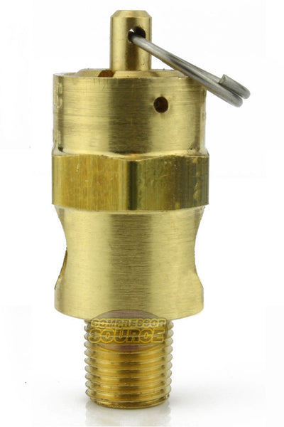 "125 PSI 1/8"" Male NPT Air Compressor Pressure Relief Safety Pop Off Valve"
