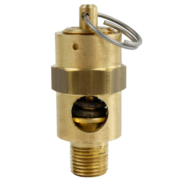 "1/8"" NPT 70 PSI Air Compressor Safety Relief Pressure Valve Tank Pop Off New"