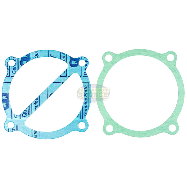Quincy QT5 Air Compressor Pump Head Rebuild Kit Valve Plates & Gaskets QT-5