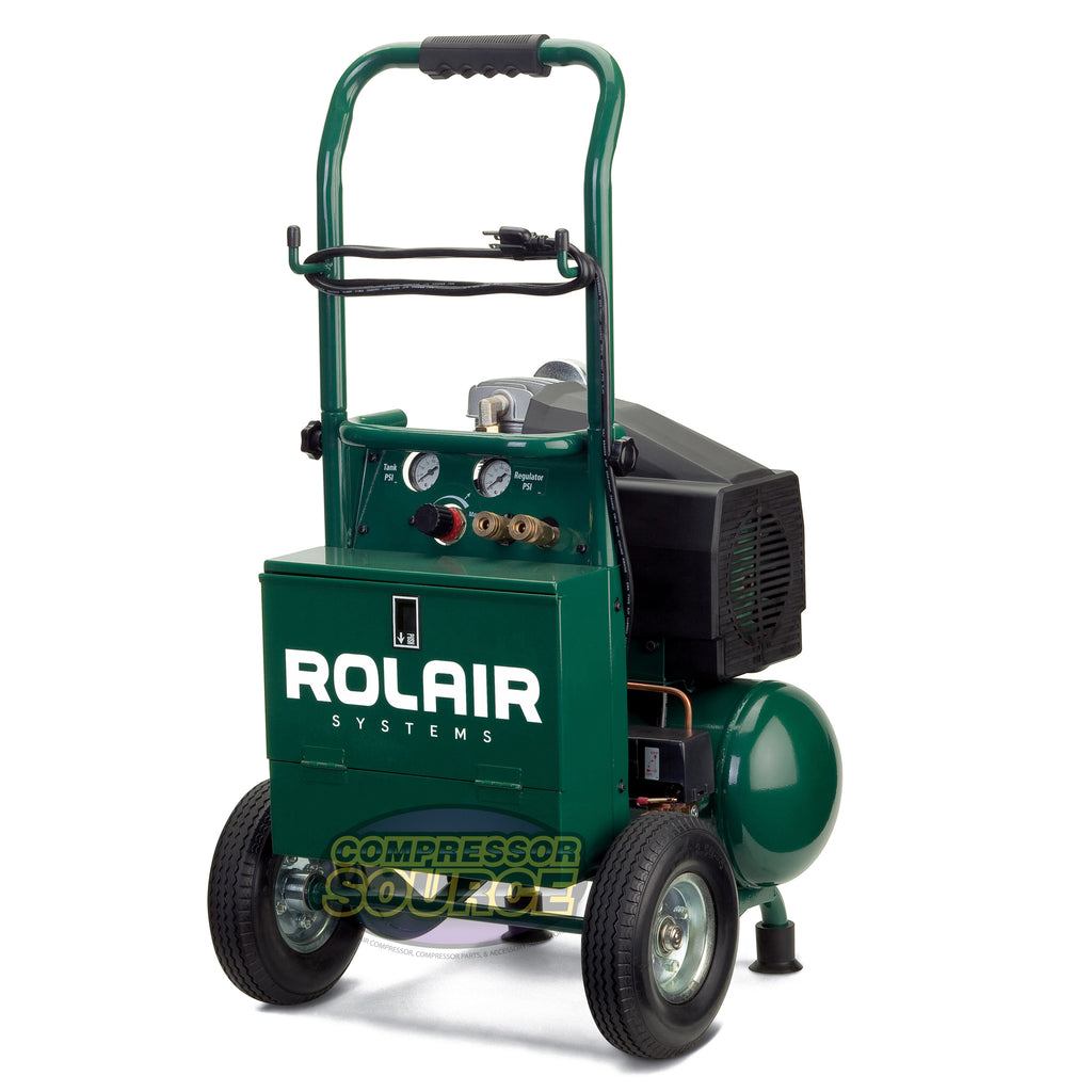 Rolair VT20TB Portable 2 HP Single Stage Air Compressor