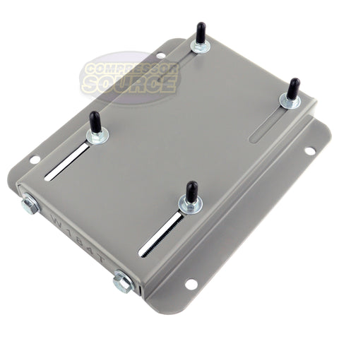 184T Frame Electric Motor Base Mount Adjustable Slide Plate Universal Mounting