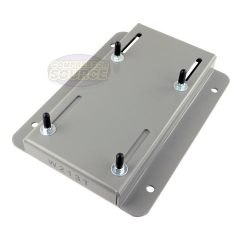 213T Frame Electric Motor Base Mount Adjustable Slide Plate Universal Mounting