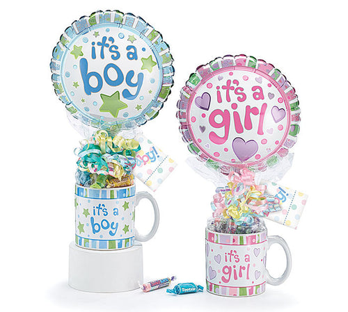 Baby Gift Mug Assortment Set