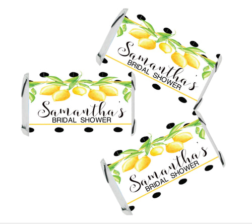 Main Squeeze Fresh Lemonade Hershey Kisses Stickers  - Hershey's Candy Stickers - Printed & Shipped - FREE SHIPPING - USE CODE SHIPFREE