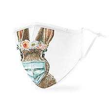 Adult Reusable / Washable Cloth Face Mask With Filter Pocket