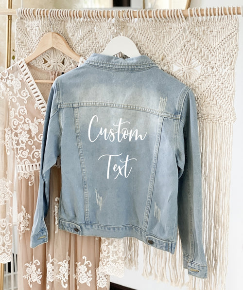 Custom Denim Jackets