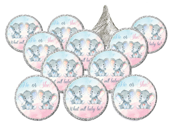 Gender Reveal Baby Shower Lip Balm Favors | What Will It Be? | Baby Shower Party Supplies