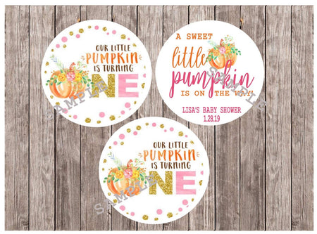 Boho Pink and Mint Cupcake Toppers. Set of 12
