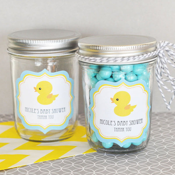 Rubber Ducky Frame Personalized Labels (set of 24)