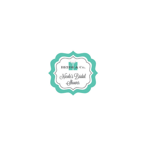 Bride & Co Frame Personalized Labels (24 Labels)
