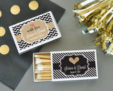 Personalized Theme Match Boxes (set of 50)