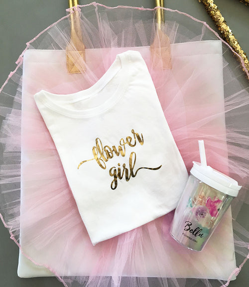 Flower Girl Tshirt